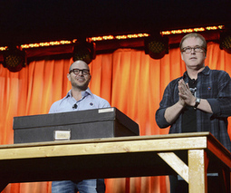 Damon Lindelof and Brad Bird unveil 'Tomorrowland' mystery box, announce mobile app | Transmedia in the Classroom | Scoop.it