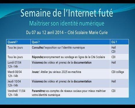 « Maîtriser son Identité numérique » - Éducation aux médias   TICE en tous genres éducatifs   Scoop.it