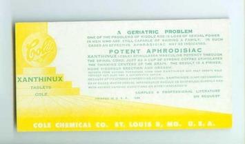 A Geriatric Problem: Vintage Advertising For Little Blue Pills | Herstory | Scoop.it