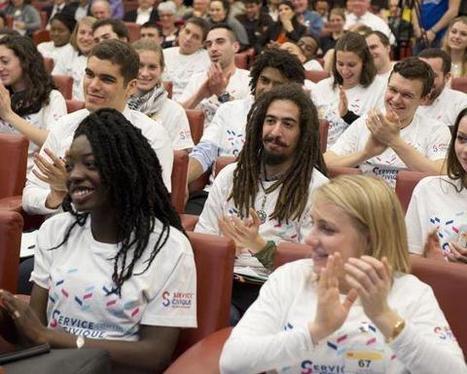 Près de 100.000 jeunes ont fait un service civique en 2016   Insertion socio-professionnelle des jeunes   Scoop.it