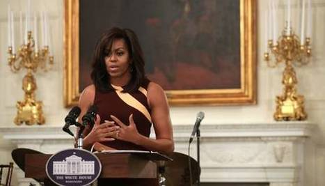 Student Poets Strike A Chord With Michelle Obama | Pure Poetry | Scoop.it