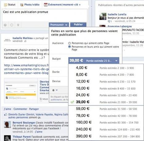 Facebook Met Fin Au «Reach Generator» | Emarketinglicious.fr | Social media evolution | Scoop.it