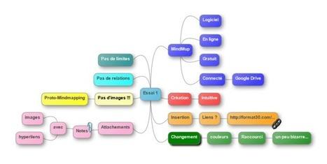 MindMup. Créer, partager et publier des cartes mentales – Les Outils Tice | Cartes mentales | Scoop.it