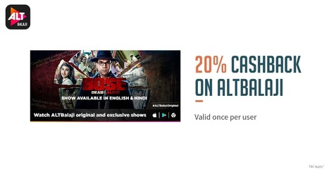 altbalaji' in Deals,Offers,Coupons,Tips and Tricks,Loots | Scoop it