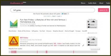 audiosearch, un buscador de contenido en podcasts | Content Curator | Scoop.it