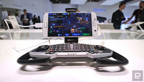Mad Catz has a gaming pad for Samsung's Galaxy S7 and S7 Edge | Samsung mobile | Scoop.it