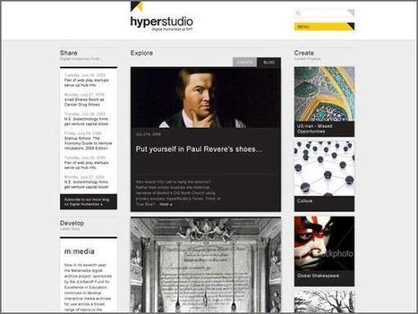 HyperStudio - The Digital Humanities Laboratory at MIT | COMPUTATIONAL THINKING and CYBERLEARNING | Scoop.it