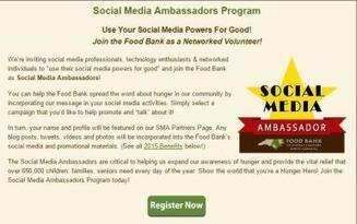 How to Explode Year-End Fundraising With Social Media Ambassadors | Nonprofits & Social Media | Scoop.it