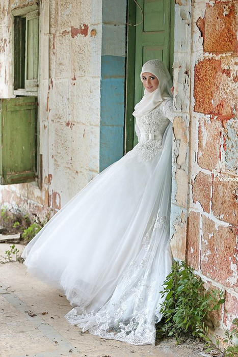 c6b5e943501 robe de mariée hijab - robe-orientale.co...