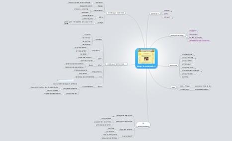 Créer un blog à la maternelle: présentation en carte mentale   Classemapping   Scoop.it