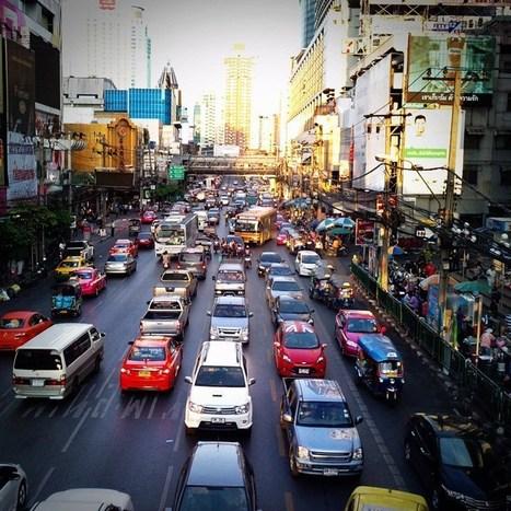 Les embouteillages de Bangkok consomment 97 millions de baht de carburant par jour | Thailande Info | Scoop.it