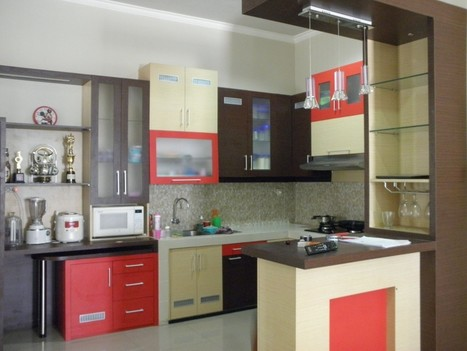 Kitchen Set Minimalis Murah Bali Denpasar In Design Architecture
