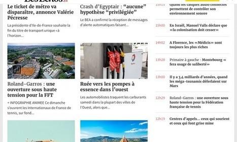 Le quotidien Les Echos a mis en ligne son nouveau site responsive avec une nouvelle ergonomie | Offremedia | Médiathèque SciencesCom | Scoop.it