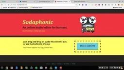 Sodaphonic: un editeur audio en ligne et sans inscription – Le coutelas de Ticeman   le foyer de Ticeman   Scoop.it