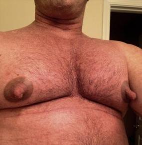 Resultado de imagem para big men nipples