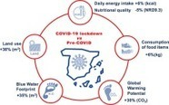 Spain: Environmental and nutritional impacts of dietary changes during the COVID-19 lockdown