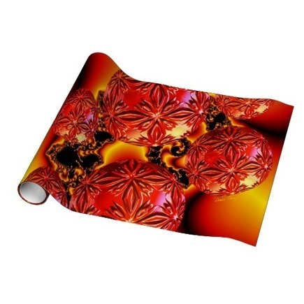 Flame Delights, Abstract Crimson Red Fire Gift Wrap from Zazzle.com | Fashion to Delight You for Home and to Wear | Scoop.it