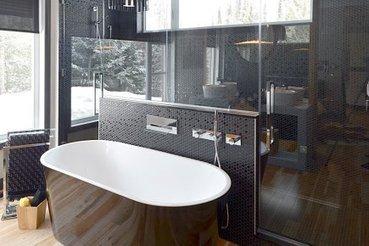 La salle de bain de 2013: racée et surdimensionnée - LaPresse.ca | mobilier salle de bain | Scoop.it