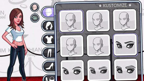 The Keys To Kim Kardashian's Krazy Gaming Success   Transmedia: Storytelling for the Digital Age   Scoop.it