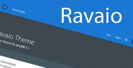 Ravaio modern responsive phpbb forum theme ravaio modern responsive phpbb forum theme maxwellsz