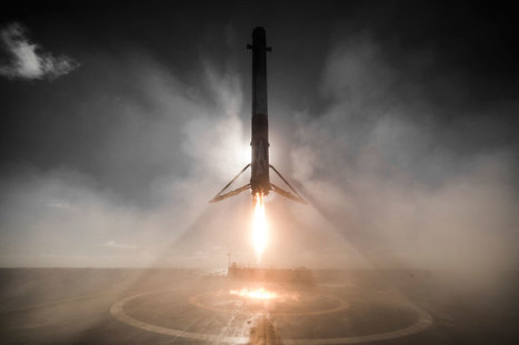 14 Amazing HQ Photos from SpaceX's Successful Launch and Landing | New learning | Scoop.it