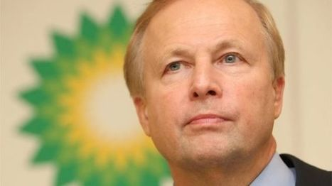 BP shareholders reject chief Bob Dudley's £14m pay deal - BBC News | Political world | Scoop.it