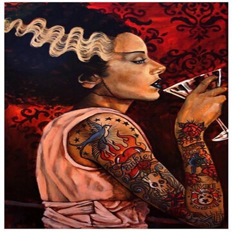 Frankenstein & Bride Come To Sad Man's Tongue Bar & Bistro – Prague | Rockabilly | Scoop.it