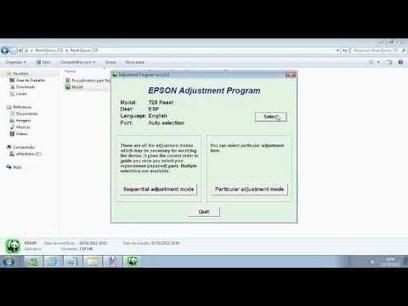 adjustment program reset impressora epson sx1