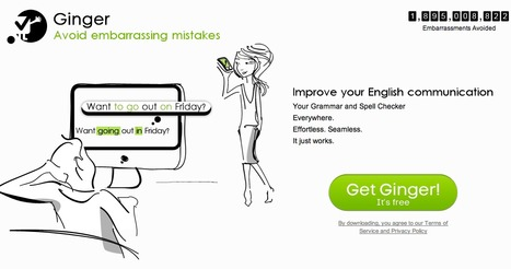Get Ginger! - Improve your English Communication! | Technology and Education Resources | Scoop.it