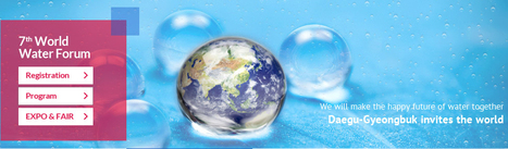 7th World Water Forum 2015 Water for Our Future, April 12 -17, 2015 | Daegu EXCO, Gyeongju HICO- Korea | FTN Global & Overseas | Scoop.it