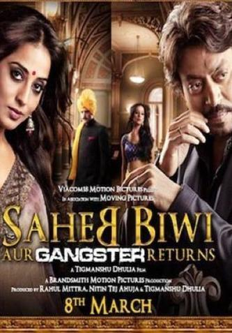 Saheb Biwi Aur Gangster Returns telugu movie hd free download