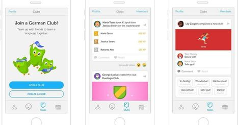 Duolingo's clubs make language learning a competition | Mobile Phones and  Language Learning | Scoop.it