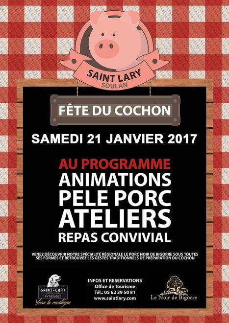 Pêle porc à Saint-Lary le 21 janvier | Vallée d'Aure - Pyrénées | Scoop.it