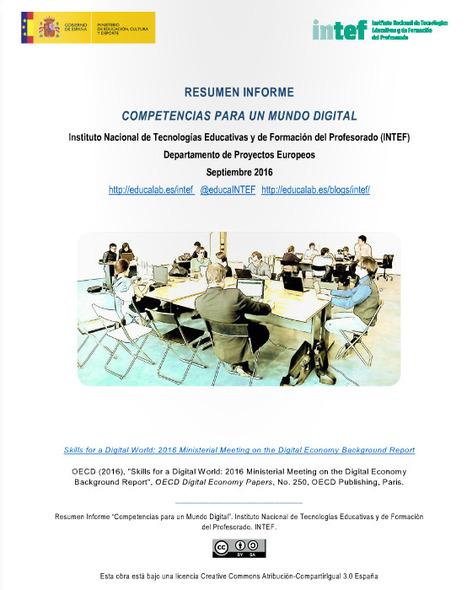 Informe: Competencias para un mundo digital | Pasion por el Conocimiento | Scoop.it