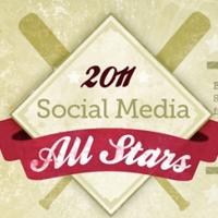 2011 Social Media All Stars: Social Media Infographic With A MLB Twist | visualizing social media | Scoop.it