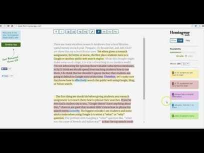 Two Tools That Help Students Analyze Writing   Recursos Online   Scoop.it