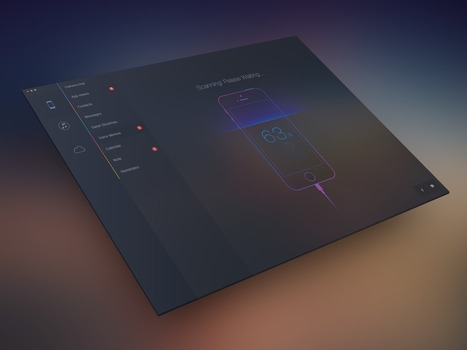 Dribbble - ScanningRealPixel_view.png by wallace   WebDesign   Scoop.it