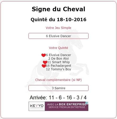 2 107.05€ pour les astroquinté au Tiercé-Quarté-Quinté+ le 18/10 à Deauville. | Pariez avec ASTROQUINTE | Scoop.it