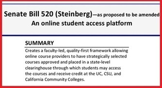 CA Bill Mandates Credit for Online MOOC-style Courses to Fill Gaps in Availability | 21st Century Teaching and Learning Resources | Scoop.it
