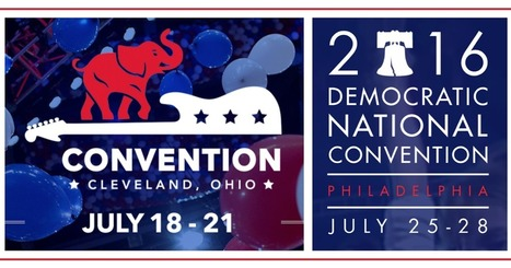 Visualizing The 2016 Conventions - Interactive Tools To Learn About Parties & Politics | Design in Education | Scoop.it