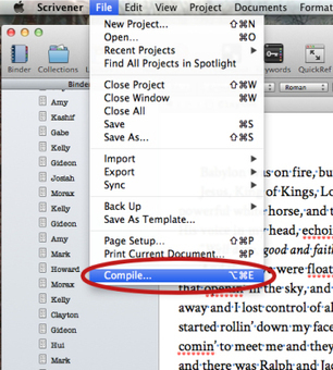 Using Scrivener and iBooks Author to Create an iTunes iBook   C