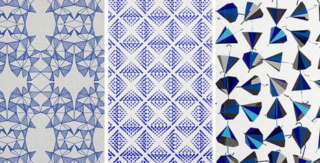 Design Textile In Tissu D Ameublement Art Textile Et Papier Peint