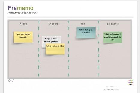 NetPublic » Framemo : Outil libre collaboratif en ligne pour créer des mémos virtuels | Mind Mapping | Scoop.it