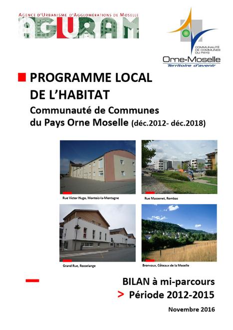 Bilan à mi-parcours du Programme Local de l'Habitat de la CCPOM | Actualité du centre de documentation de l'AGURAM | Scoop.it