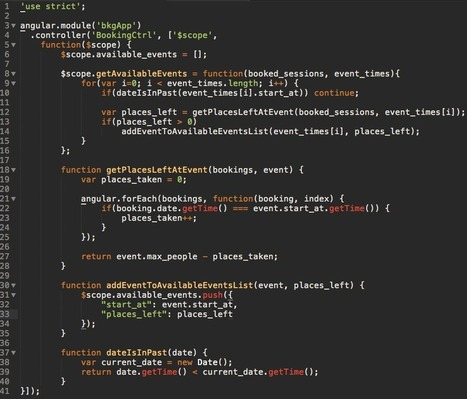 CLEAN CODE IN ANGULAR.JS : GETTING STARTED   AngularJS   Scoop.it