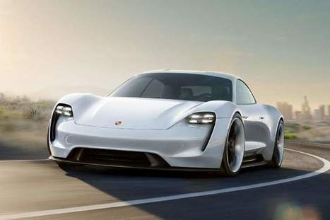 Porsche Mission E Electric Car to Compete With Tesla Model | Technology in Business Today | Scoop.it
