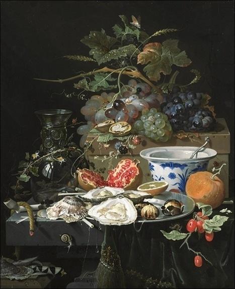 Les aliments de luxe dans la peinture   Arts et FLE   Scoop.it