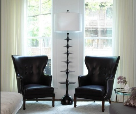 Inspiring Floor Lamps for a Chic Home | Designing Interiors | Scoop.it