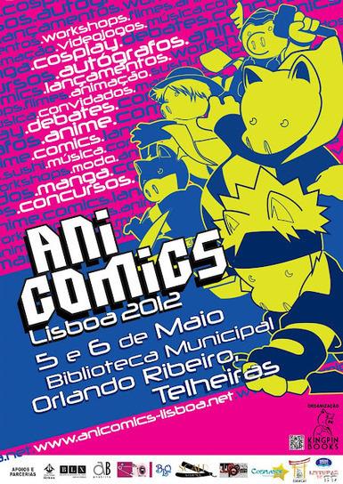 Anicomics Lisboa 2012: Cartaz/Poster e Autores : Leituras de BD ...   Magia da leitura   Scoop.it