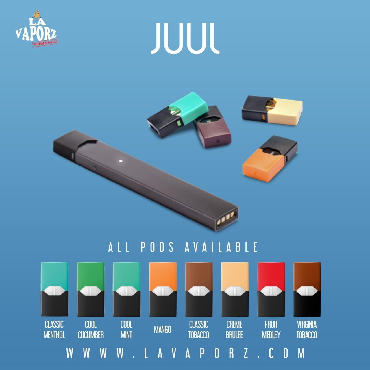 Juul Kit by Juul | LA VAPORZ Wholesale | vapor